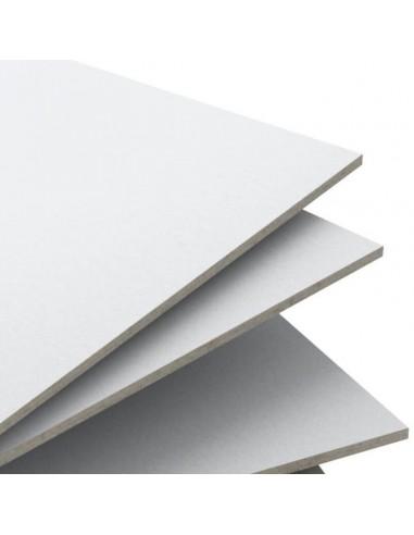 Cartón Gris 2 caras Blancas